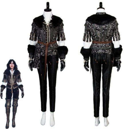 Fantasia Cosplay Yennefer The Witcher Caçada Selvagem - Cosplay