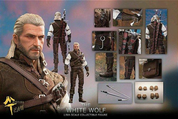 Action Figure Geralt De Rivia Boneco Articulado 30 Cm -  The Witcher MT Toys