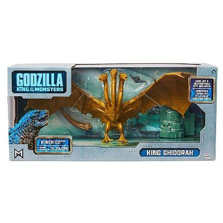 Action Figure King Ghidorah Série Godzilla King Of The Monsters Original Jakks