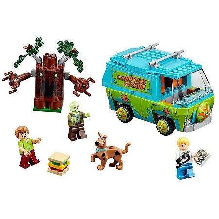 Blocos de Montar Scooby Doo The Mystery Machine 305 peças + 4 Personagens