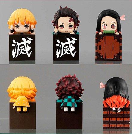 Kimetsu no Yaiba: Demon Slayer Kit com 3 personagens decorativos