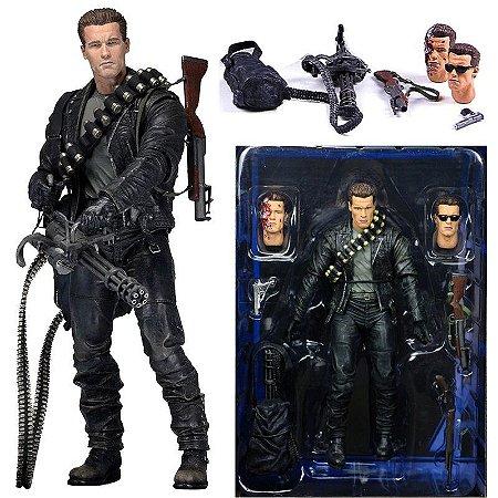 Action Figure Terminator T-800 Exterminador do Futuro 2 - Neca