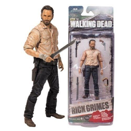 Action Figure The Walking Dead Series 6 Rick Grimes - McFarlane toys
