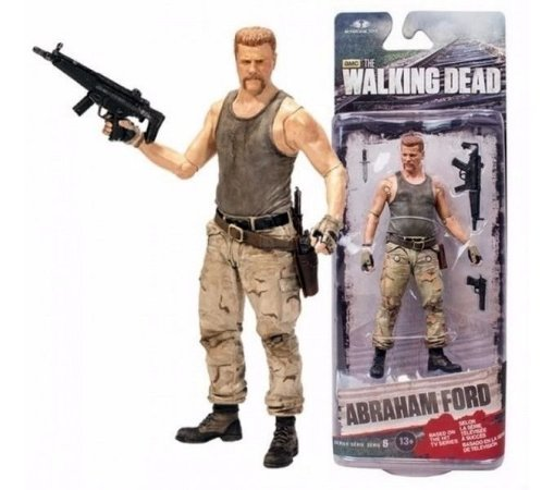 Action Figure The Walking Dead Series 6 Abraham Ford - McFarlane toys
