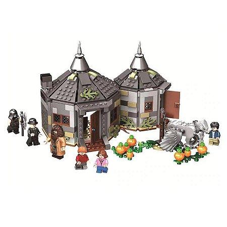 Harry Potter Cabana de Hagrid: O Resgate de Buckbeak 496 Peças  - Blocos De Montar