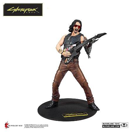 Johnny Silverhand Deluxe Action Figure Estátua Cyberpunk 2077 - McFarlane Toys