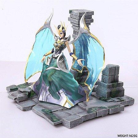 Morgana A Caída Estátua League Of Legends 27 cm
