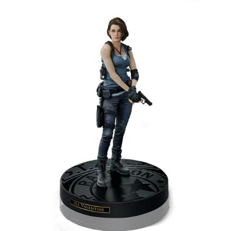 Boneco Jill Valentine Estátua Resident Evil - Geek Gamer