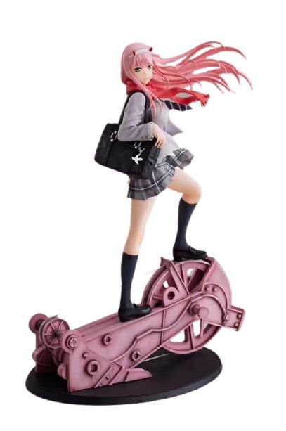 Figure Zero Two Code 002 Anime Darling in the Franxx 28 Cm - Animes Geek