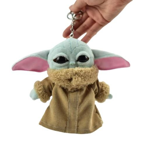 Baby Yoda Pelúcia Chaveiro O Madalorian - Star Wars