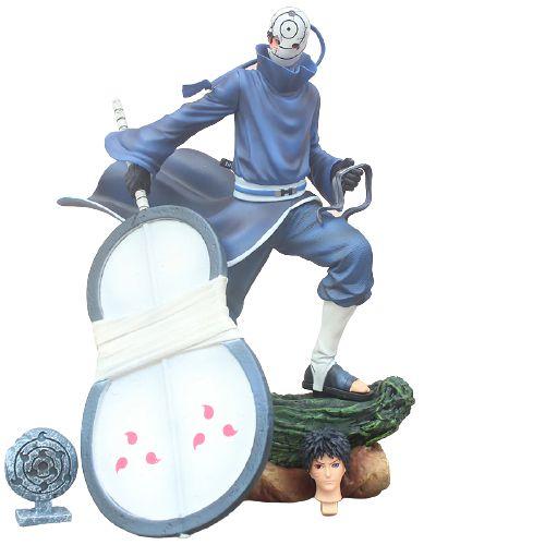 Estátua Obito Uchiha 30 Cm Naruto Shippuden - Animes Geek