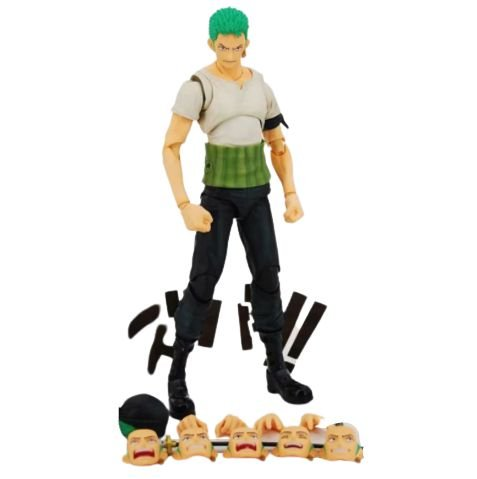 Action Figure Roronoa Zoro Articulado - One Piece
