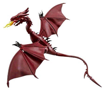 Dragão Smaug O Hobbit 45 Cm - Blocos de Montar
