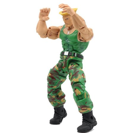 Guile Action Figure Street Fighter IV - Neca