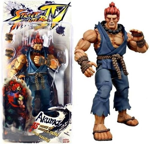 Akuma Action Figure Street Fighter IV - Neca