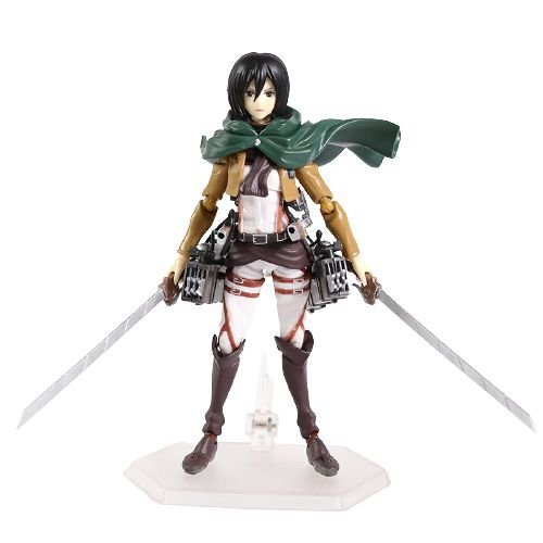 Action Figure Mikasa Ackerman articulada Attack On Titan - Shingeki No Kyojin