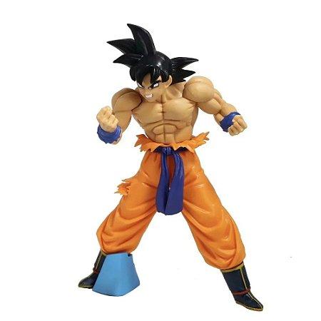 Estátua Son Goku 25 cm - Dragon Ball