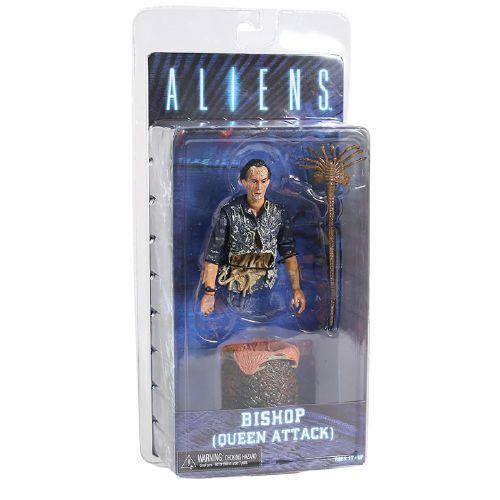 Action Figure Bishop Queen Attack Aliens - Neca