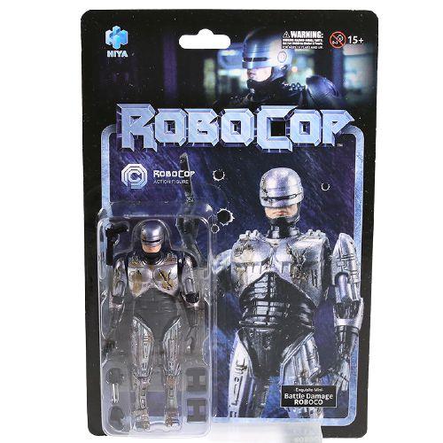 Action Figure Robocop Versão Battle Damaged Original Hiya - Cinema Geek