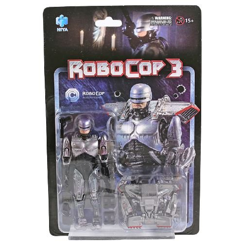 Action Figure Robocop 3 Com JetPack Versão Normal Original Hiya - Cinema Geek
