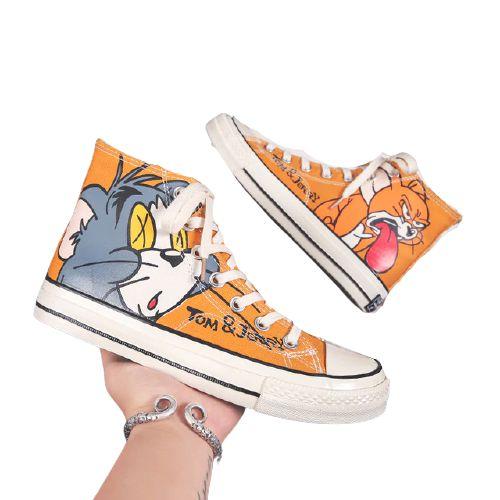Tênis Star Tom E Jerry Alta Qualidade - Moda Geek