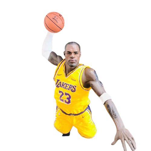 Estátua Lebron James NBA Lakers - Games Geek