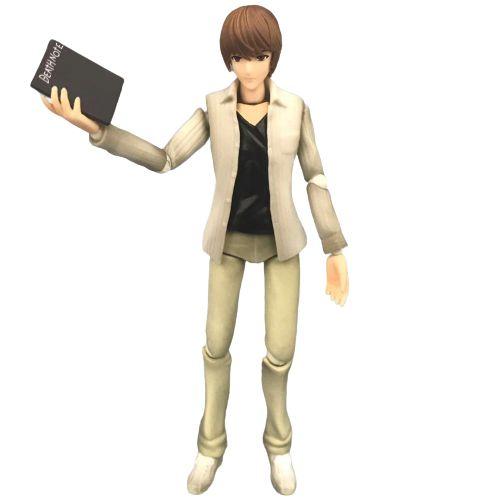 Action Figure Light Yagami Boneco Articulado - Death Note