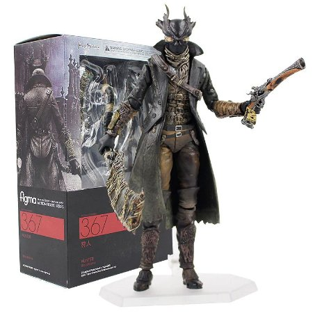 Action Figure The Hunter Bloodborne Boneco Articulado - Games Geek