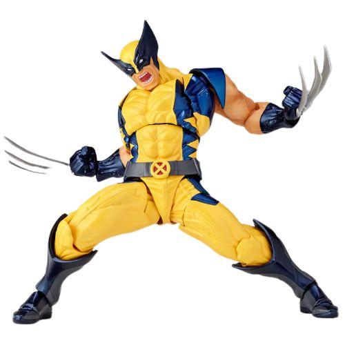 Action Figure Wolverine Boneco Totalmente Articulado - X-Men