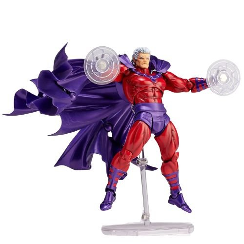 Action Figure Magneto Boneco Totalmente Articulado - X-Men