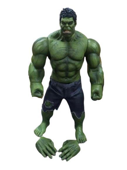 Boneco Hulk Articulado 25 Cm - Vingadores