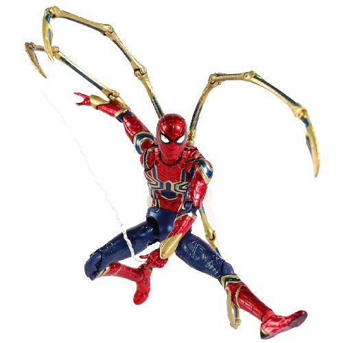 Boneco Iron Spider Action Figure Articulado - Homem Aranha