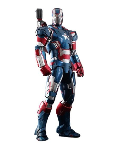 Action Figure War Machine 30 Cm Com LED - Iron Man