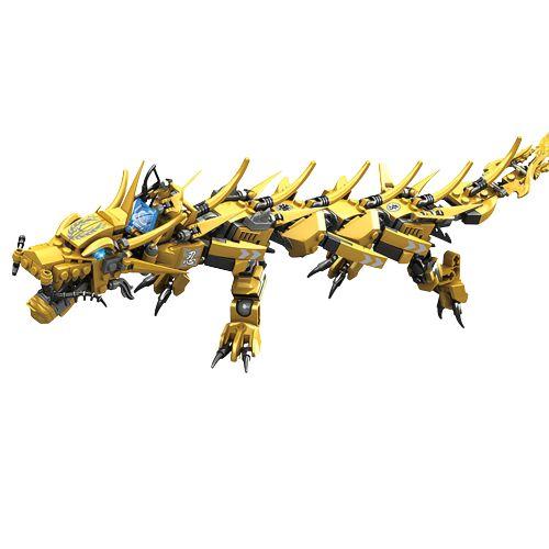 Blocos de montar Ninjago Legacy Golden Dragon