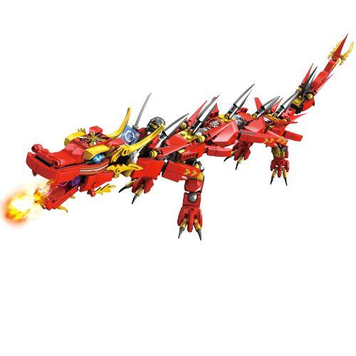 Blocos de montar Ninjago Legacy Red Dragon