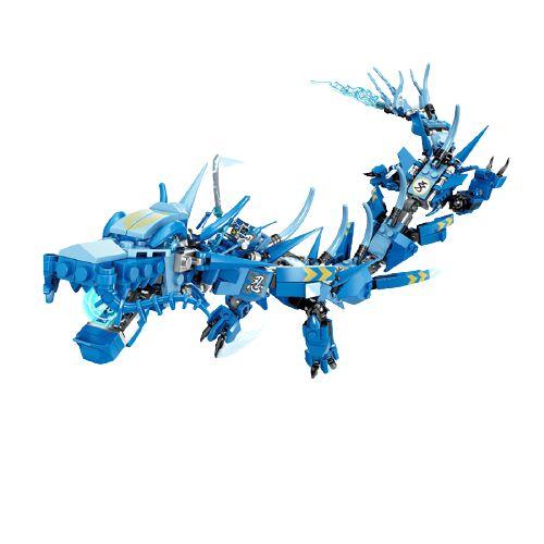 Blocos de montar Ninjago Legacy Blue Dragon