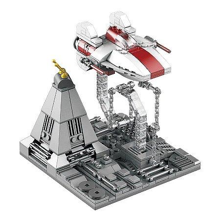 Interceptador A-Wing 359 peças Star Wars - Blocos de Montar
