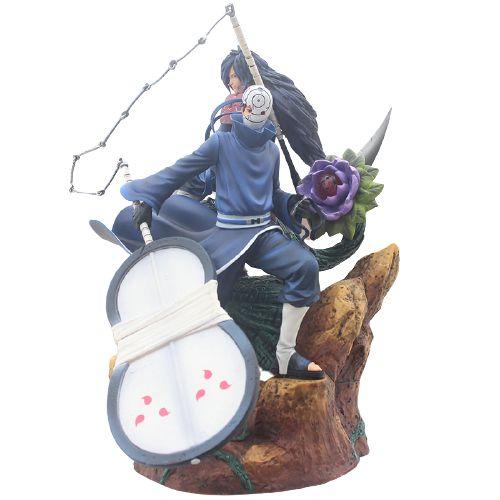 Diorama Madara e Obito Uchiha 40 cm - Naruto Shippuden