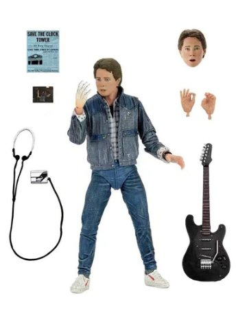 Marty McFly Ultimate Versão Audition De Volta para o Futuro - Neca