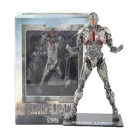 Estátua Cyborg Liga da Justiça 1/10 - Dc Comics