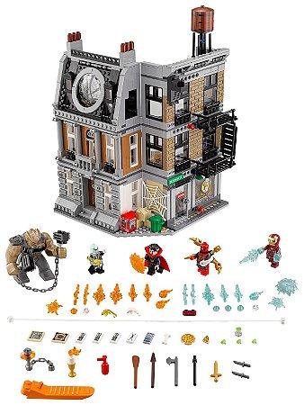 Blocos de Montar O Confronto Sanctum Sanctorum 1044 peças - Super Heroes