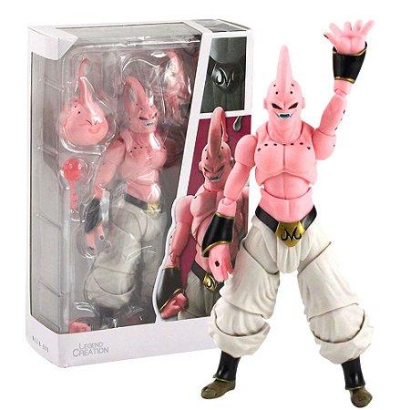 Boneco Majin Boo Action Figure Dragon Ball Articulado