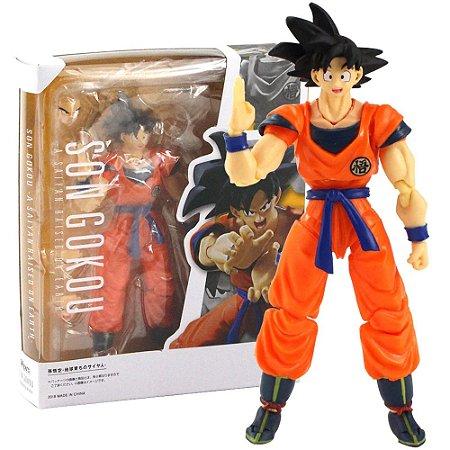 Boneco Son Goku Action Figure Dragon Ball Articulado