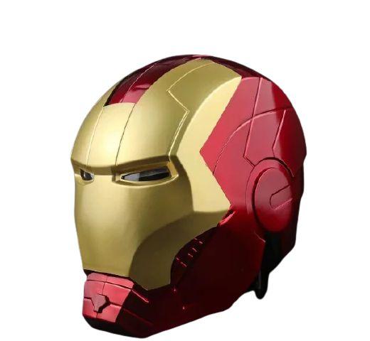 Capacete Homem de Ferro tamanho real com LED - Iron Man