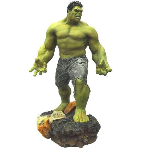 Estátua Hulk Gigante 60 Cm - Vingadores