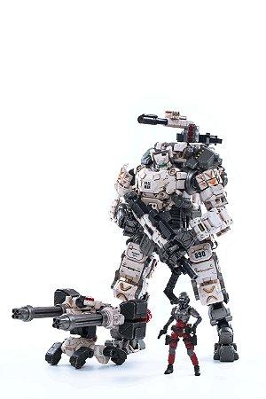 Joytoy Steel Bone Boneco Robô Action Figure Ver. Bone White