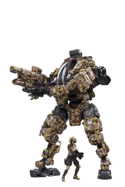 Joytoy Steel Bone Boneco Robô Action Figure Ver. Bone Camouflage
