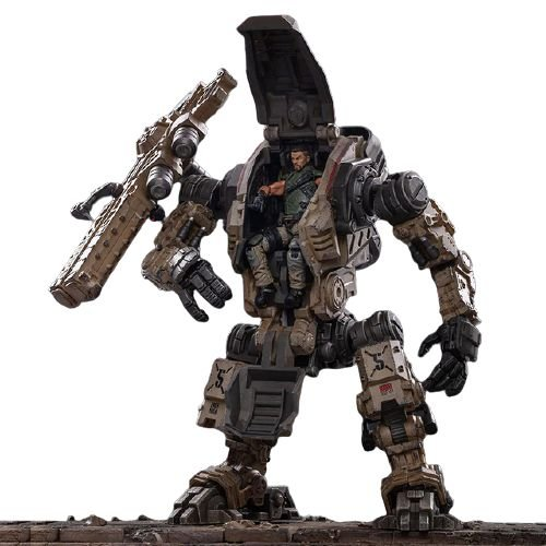 Joytoy Steel Bone Boneco Robô Action Figure Ver. Sand Color