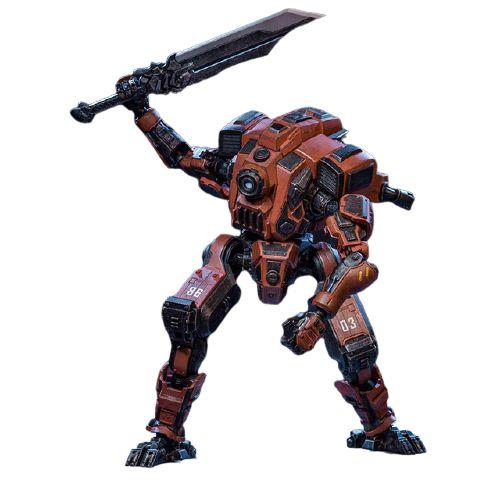 Joytoy Steel Bone Boneco Robô Action Figure Ver. Torture