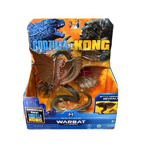 Boneco Warbat 2021 Ver. Battle Damage Reveal Lançamento Kong Vs Godzilla - Original Playmates